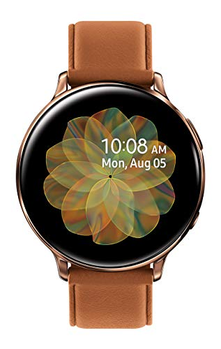 SAMSUNG Galaxy Watch Active 2 (44mm, GPS, Bluetooth, Unlocked LTE) Smart Watch with Advanced Health monitoring, Fitness Tracking , and Long lasting Battery, Gold - (US Version)