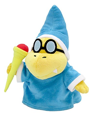 Little Buddy Super Mario All Star Collection 1599 Kamek/Magikoopa Stuffed Plush, 8',Multicolor