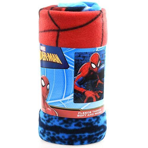 NORTHWEST ENTERPRISES Spiderman Web Lines 45x60 Fleece Throw Blanket