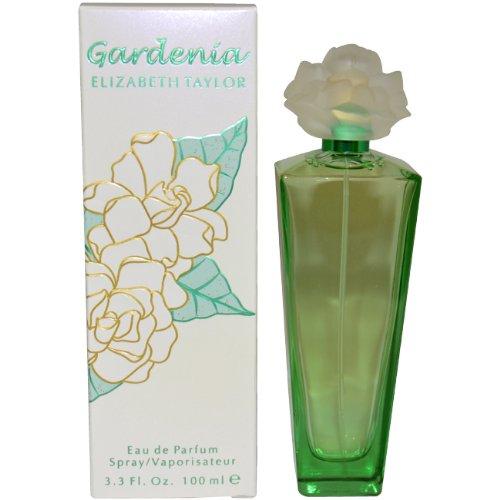 Gardenia by Elizabeth Taylor   Eau de Parfum Spray   Fragrance for Women   Floral, Green, and Musky Scent   100 mL / 3.3 fl oz