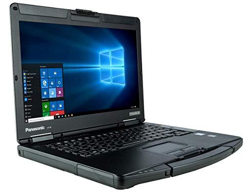 "Panasonic Toughbook CF-54, Intel Core i5-5300U @2.30GHz, 14.0"" HD, 16 GB, 1 TB SSD, WiFi, Bluetooth, Windows 10 Pro, DVD Multi Drive, Serial Port (Renewed)"