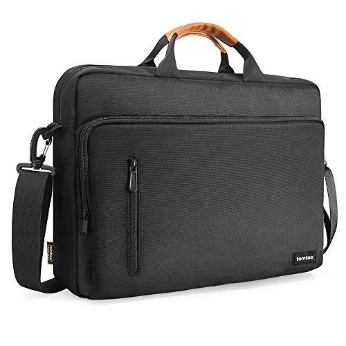tomtoc 13.5 Inch Laptop Shoulder Bag for 13-inch MacBook Pro, MacBook Air, Surface Book, Surface Laptop, Multi-Functional Laptop Messenger Bag for Surface Pro, Dell XPS 13