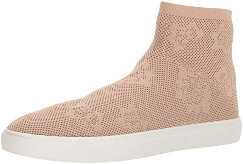 Kenneth Cole New York Women's Keating Stretch Knit High Top Sneaker, Rose, 7.5 M US
