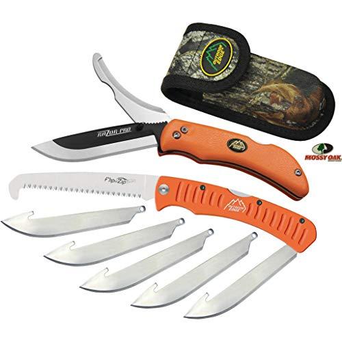 Outdoor Edge Razor-Pro/Saw Combo Folding Knife Box (Clam Pack), Orange
