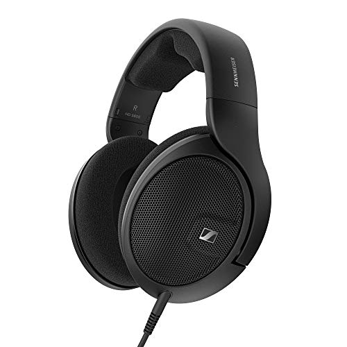 Sennheiser HD 560 S Over-The-Ear Audiophile Headphones - Neutral Frequency Response, E.A.R. Technology for Wide Sound Field, Open-Back Earcups, Detachable Cable, (Black) (HD 560S)