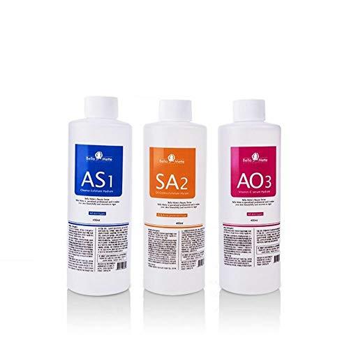 Aqua Peeling Solution aqua cleaning dermabrasion facial special solutions(3 Bottles small bubble )
