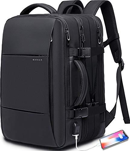 35L Travel Backpack,Flight Approved Carry On Backpack for International Travel Bag, Water Resistant Durable 17-inch Laptop Backpacks,Large Daypack Business Weekender Luggage Backpack for Men Women …