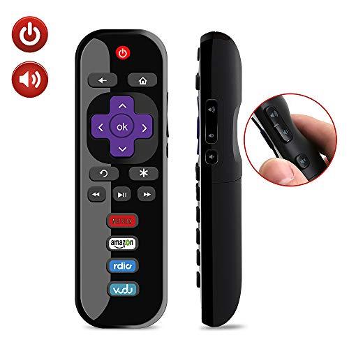 Gvirtue EN3A32 Replacement Remote Control Fit for Hisense Roku TV 32H4C 40H4 40H4C 40H4C1 40H40C 48H4 48H4C 48H4C1 48H4C2 50H4C 43H4020E 32H4040E 40H4E 40H4040E 50R6030E1 50R6060E1 70R6200F 55R6040F