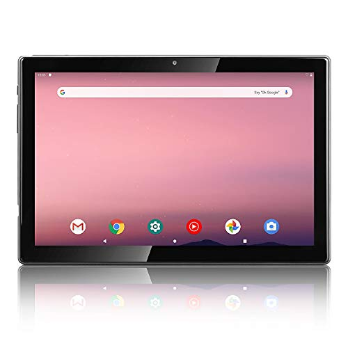 HAOVM 10.1 Inch Android 10.0 Tablet,P20 MediaPad 1920x1200 IPS FHD Display Screen Tablets,Octa-Core 1.6GHz Processor,5MP+13MP Dual Camera,3GB RAM,64GB Storage,5G WiFi,128GB Expand,6000mAh,GPS,Silver