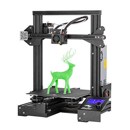 Official Creality Ender 3 Pro 3D Printer with Magnetic Removable Build Surface Plate and UL Certified Power Supply, DIY FDM 3D Printer 220x220x250MM