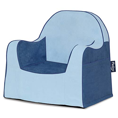 P'Kolino Little Reader Toddler Two Tone Blue Children's Chair One Size