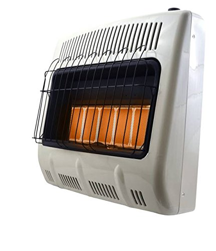 Mr. Heater Corporation F299830 Vent-Free 30,000 BTU Radiant Propane Heater, Multi