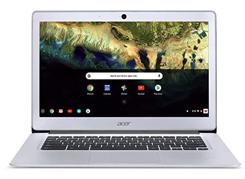 Acer Chromebook 14, Aluminum, 14-inch Full HD, Intel Celeron N3160, 4GB LPDDR3, 32GB, Chrome, CB3-431-C5FM
