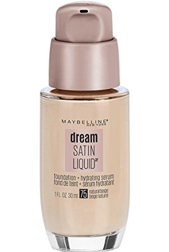 Maybelline New York Dream Satin Liquid Foundation, Natural Beige [75] 1 oz