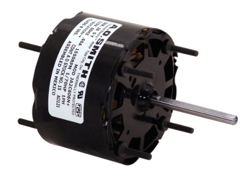 AO Smith 36 Blower Motor with 3.3-Inch Frame Diameter, 1/40-HP, 3000-RPM, 115-Volt, 0.92-Amp and Sleeve Bearing