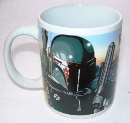 Star Wars Official Ceramic Mug Boba Fett Bounty Hunters ' Tatooine Sunset '