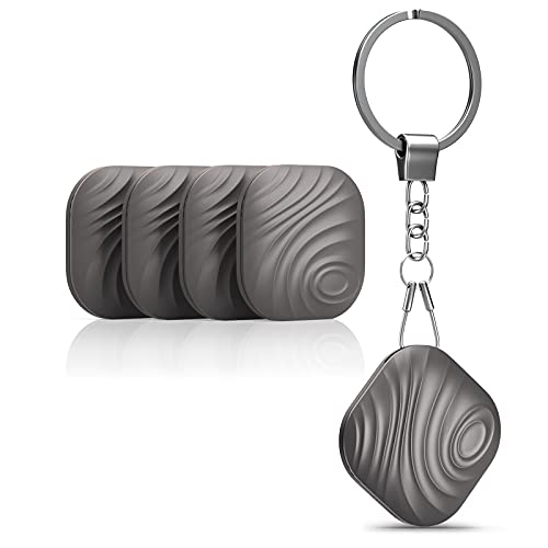 Key Finder - Nutale Findthing Smart Bluetooth Tracker Item Locator Bidirectional Alarm Finder Device for Keys Phone Wallet Pets and Remote Control… (4PACK)