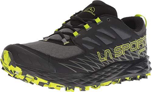 La Sportiva Lycan GTX Running Shoe, Carbon/Apple Green, 44.5