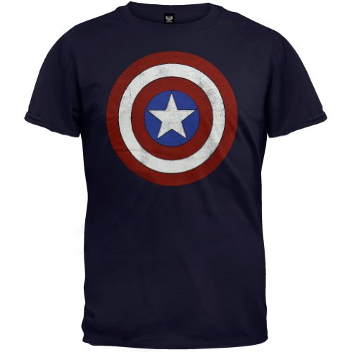 T-Shirt - Captain America - Shield, XX large