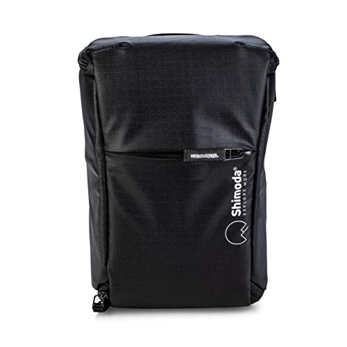 Shimoda Top Loader Water Resistant Padded Camera Bag - Fits DSLR, SLR, Mirrorless Cameras and Lenses - Perfect Bag for Your Drone - Black