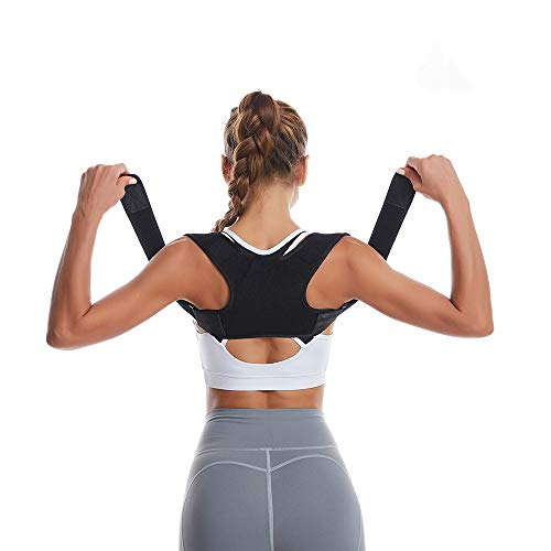 Posture Corrector for Women and Men - Adjustable Upper Back Brace - for Support and Providing Pain Relief from Neck,Back and Shoulder, Improve Eliminate Bad Posture for Correct Posture