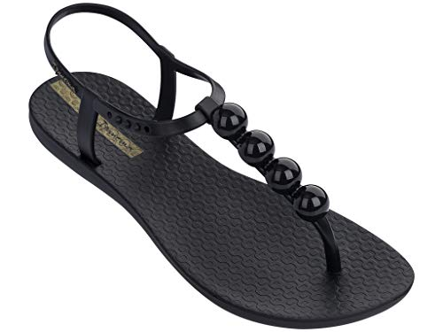 Ipanema Pearl Women's Sandals, Black/Black (8 US)