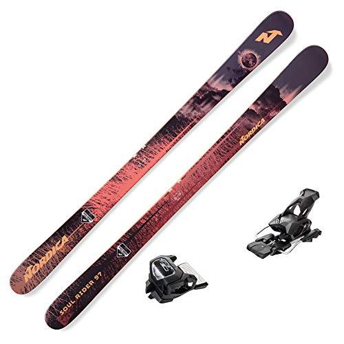 Nordica 2019 Soul Rider 97 Skis w/Tyrolia Attack2 13 Bindings (185)