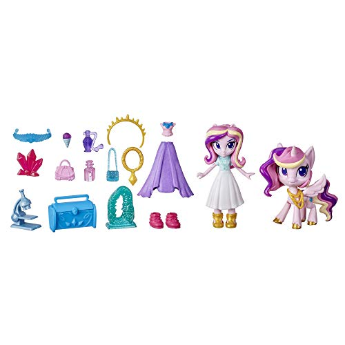 My Little Pony Equestria Girls Princess Cadance Crystal Festival Potion Princess -- 3-Inch Mini Doll and Toy Pony Figure with 20 Accessories