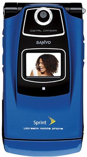 SANYO KATANA SCP 6600 BLUE SPRINT CAMERA CELL PHONE