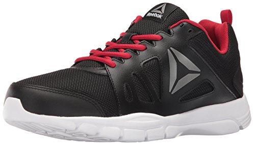Reebok Men's Trainfusion Nine 2.0 L MT Running Shoe, Black/Excellent Red/Pewter/White  - 10.5 D(M) US