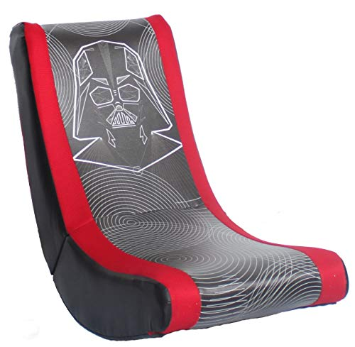 Idea Nuova Star Wars Darth Vader Video Rocker Gaming Chair for Kids and Teens, White