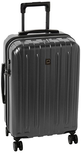 DELSEY Paris Titanium Hardside Expandable Luggage with Spinner Wheels, Graphite, Carry-On 21 Inch
