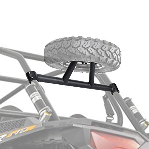 RZR Spare Tire Carrier XP 1000 Spare Tire Mount for Polaris RZR XP 1000 XP4 2014 2015 2016 2017 2018 2019 2020 Spare Tire Holder by KEMIMOTO(UP TO 30' TIRE)