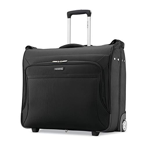 Samsonite Ascella X Softside Expandable Luggage with Spinner Wheels, Black, Garment Bag