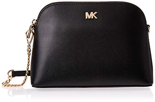 MICHAEL Michael Kors Large Zip Dome Crossbody Black One Size