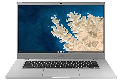 Samsung Chromebook 4 + Chrome OS 15.6' Full HD Intel Celeron Processor N4000 4GB RAM 32GbEmmc Gigabit Wi-Fi -XE350XBA-K01US - Silver