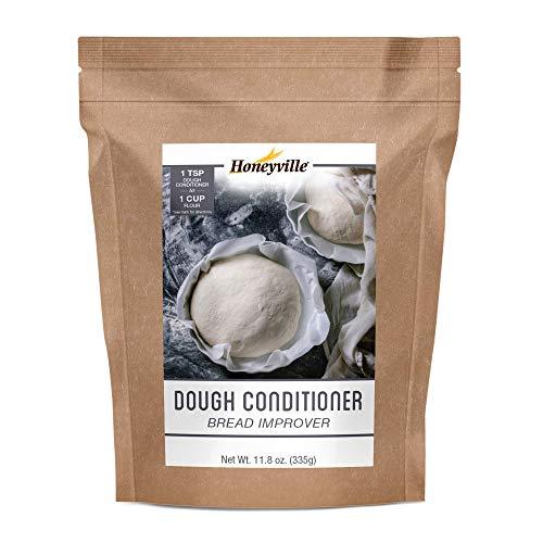 Honeyville Dough Conditioner - All Grain Bread Improver, Dough Enhancer (11.8 OZ)