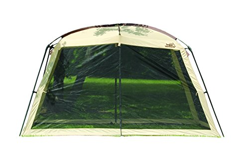 Texsport Wayford 12' x 9' Portable Mesh Screenhouse Arbor Canopy for Backyard and Camping