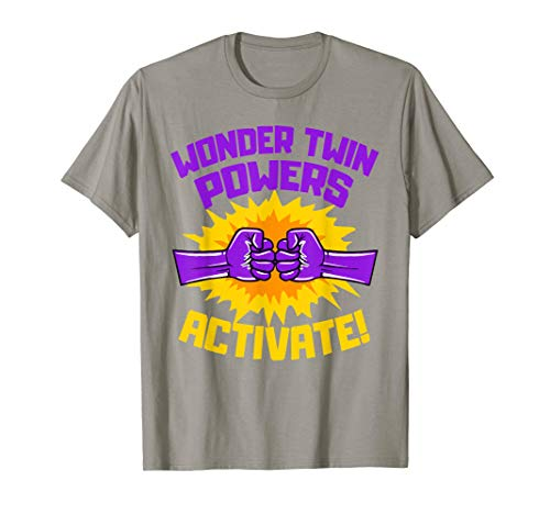 Wonder Twins Power Activate Fist Bump Funny Gift T-Shirt