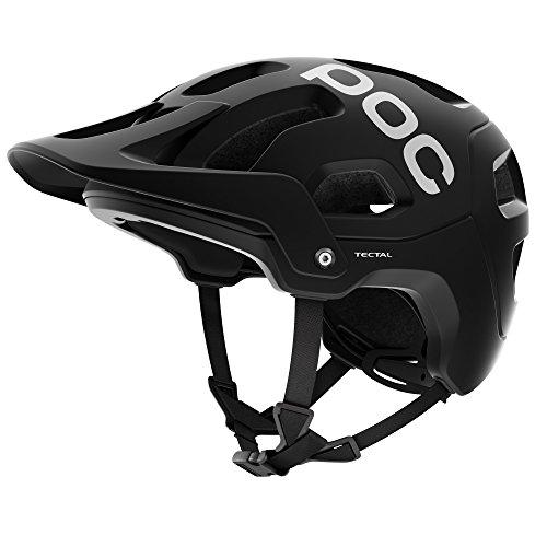 POC, Tectal, Helmet for Mountain Biking, Uranium Black, Medium/Large