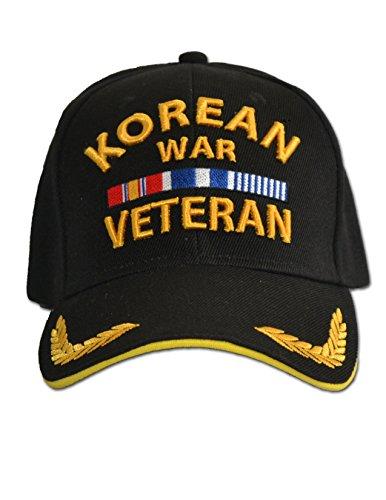 Grunt Apparel Korean War Veteran Cap Black