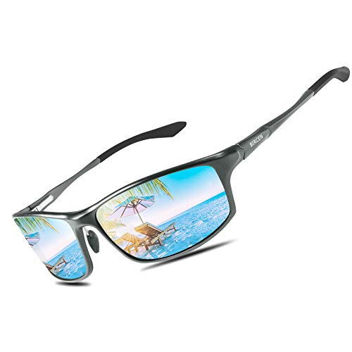 Bircen Polarized Sunglasses for Men Women UV Protection Driving Golf Fishing Sports Sunglasses