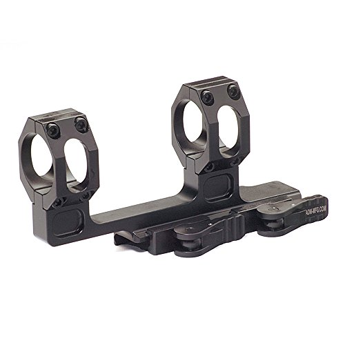 American Defense AD-Recon-H 30 STD Riflescope Optic Mount, Black