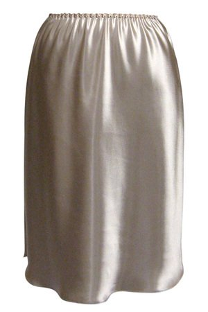 Farr West Essentials Shirt-tail Hem Half Slip Style 152-25 - Mink - Large