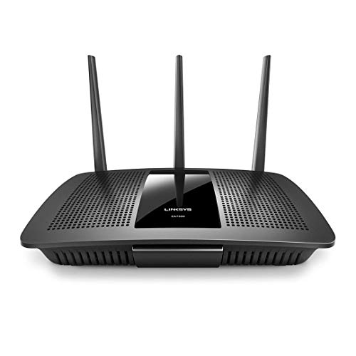 Linksys AC1750 Smart Wi-Fi Router Home Networking, MU-MIMO Dual Band Wireless Gigabit WiFi Router, Speeds up to 1.7 Gbps, coverage up to 1,500 sq ft, Parental Controls, up to 10 devices (EA7300)