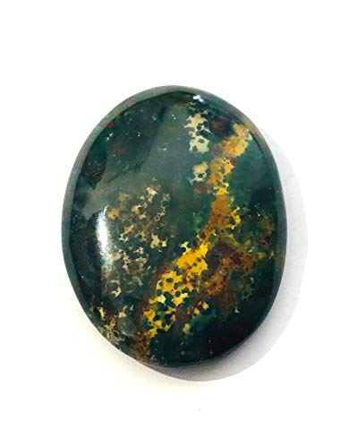 crystalmiracle Bloodstone Single Cabochon Crystal Healing Reiki Feng Shui Gift Wellness Peace Meditation Health Handcrafted Power Metaphysical Gemstone Positive Energy
