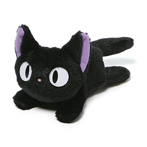 GUND Kikis Delivery Service Jiji Beanbag Cat Stuffed Animal Plush, 6.5'
