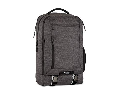 TIMBUK2 Authority Laptop Backpack, Jet Black Static