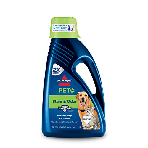 Bissell 2X Pet Stain & Odor Full Size Machine Formula, 60 Ounces, 99K5A, 60-Ounce, Fl Oz