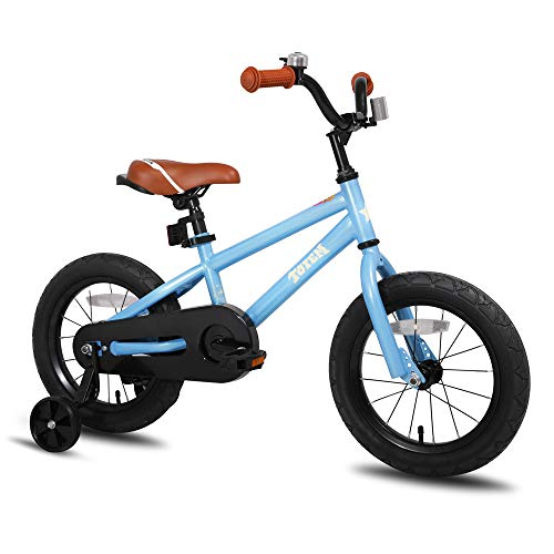 JOYSTAR 18 Inch Kids Bike for 5 6 7 8 Years Old Boys, 18 Inch Child Bicycle with Kickstand, Blue